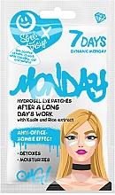 Parfums et Produits cosmétiques Patchs hydrogel au kaolin et extrait de riz pour contour des yeux - 7 Days Hydrogel Eye Patches