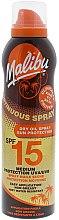 Parfums et Produits cosmétiques Spray huile sèche solaire pour corps SPF 15 - Malibu Continuous Dry Oil Spray SPF 15