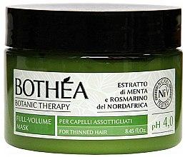 Parfums et Produits cosmétiques Masque volume pour cheveux - Bothea Botanic Therapy Full-Volume Mask pH 4.0
