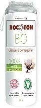 Parfums et Produits cosmétiques Disques à démaquiller bio en coton, 80pcs - Bocoton