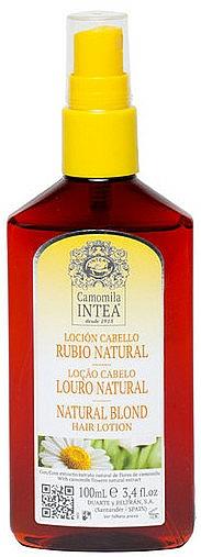 Crème décolorante à l'extrait de camomille - Intea Premium Natural Blonde Hair Lightening Lotion Wth Natural Camomile Extract — Photo N1