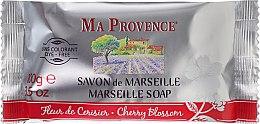 Parfums et Produits cosmétiques Savon de Marseille Fleur de cerise - Ma Provence Marseille Soap Cherry Blossom