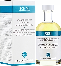 Parfums et Produits cosmétiques Huile de bain aux algues - Ren Atlantic Kelp and Magnesium Anti-Fatigue Bath Oil