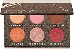 Parfums et Produits cosmétiques Palette professionnelle de fards à paupières - Zoeva Soft Sun Voyager Eyeshadow Palette