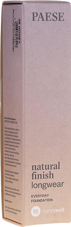 Fond de teint longue tenue - Paese Natural Finish Longwear