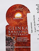 Parfums et Produits cosmétiques Argile Rhassoul en plaques - Efas