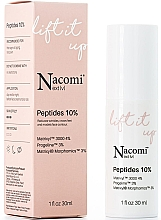Parfums et Produits cosmétiques Sérum aux peptides 10% pour visage - Nacomi Next Level Lift It Up Peptides 10%