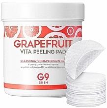 Parfums et Produits cosmétiques Disques exfoliants à l'extrait de pamplemousse - G9Skin Grapefruit Vita Peeling Pad