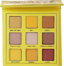 Parfums et Produits cosmétiques Palette à fards à paupères, 9 couleurs - Makeup Obsession Shadow Palette