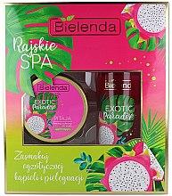 Parfums et Produits cosmétiques Set soin corps - Bielenda Exotic Paradise Pitaja (gommage/350g + huile/400ml)