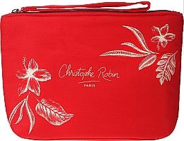 Parfums et Produits cosmétiques Christophe Robin Regenerating Travel Kit - Coffret (shampooing/75ml + baume pour cheveux/50ml + masque pour cheveux/50ml + trousse de toilette)