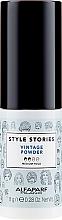 Parfums et Produits cosmétiques Poudre volumisante pour cheveux - Alfaparf Style Stories Vintage Powder Medium Hold