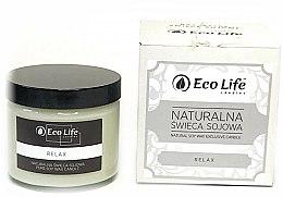 Parfums et Produits cosmétiques Bougie parfumée en cire de soja naturelle, Relax - Eco Life Candles