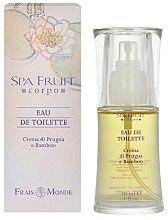 Parfums et Produits cosmétiques Frais Monde Spa Fruit Plum And Bamboo - Eau de Toilette