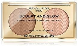 Parfums et Produits cosmétiques Palette contouring - Makeup Revolution Pro Sculpt And Glow
