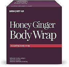 Parfums et Produits cosmétiques Soin anti-cellulite au miel et gingembre - Natura Siberica Fresh Spa Kam-Chat-Ka Honey Ginger Body Wrap