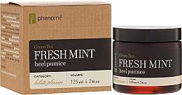 Parfums et Produits cosmétiques Pierre ponce au thé vert et menthe pour talon - Phenome Green Tea Fresh Mint Heel Pumice