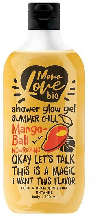 Gel douche scintillant à l'extrait de mangue - MonoLove Bio Mango-Bali Nourishing