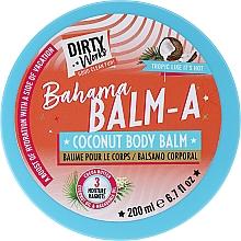 Parfums et Produits cosmétiques Baume à l'huile de noix de coco pour corps - Dirty Works Bahama Balm-A Coconut Body Balm