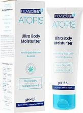 Parfums et Produits cosmétiques Lotion corporelle à l'huile de chanvre bio et réglisse - Novaclear Atopis Ultra Body Moisturizer