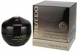 Crème de nuit à l'extrait de grande pimprenelle - Shiseido Future Solution LX Total Regenerating Cream — Photo N2