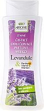 Parfums et Produits cosmétiques Lait démaquillant à la lavande et panthénol - Bione Cosmetics Lavender Cleansing Facial Milk