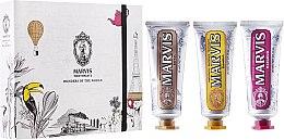 Parfums et Produits cosmétiques Set soin dentaire - Marvis Set (dentifrices/3x25ml)