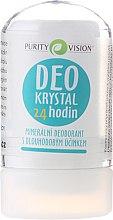 Parfums et Produits cosmétiques Déodorant cristal minéral - Purity Vision Deo Krystal 24 Hour Mineral Deodorant