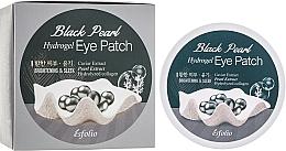 Parfums et Produits cosmétiques Patchs hydrogel à l'extrait de perles contour des yeux - Esfolio Black Pearl Hydrogel Eye Patch