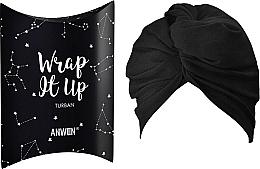 Parfums et Produits cosmétiques Bandeau Turban pour cheveux, noir - Anwen Wrap It Up Turban