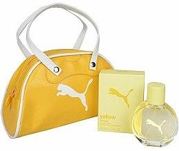 Parfums et Produits cosmétiques Puma Yellow Woman - Set (eau de toilette/40ml + sac à main)