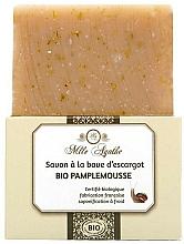 Parfums et Produits cosmétiques Savon bio à la bave d'escargot, Pamplemousse - Mlle Agathe