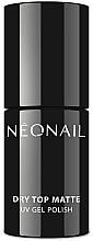Parfums et Produits cosmétiques Top coat mat pour vernis hybride - NeoNail Professional Dry Top Matte