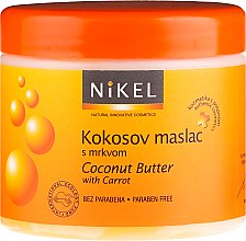 Parfums et Produits cosmétiques Beurre à la noix de coco et carottes pour corps - Nikel Coconut Butter