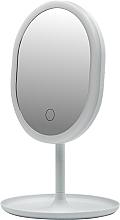 Parfums et Produits cosmétiques Miroir avec éclairage LED, 498579, blanc - Inter-Vion LED With Mini USB