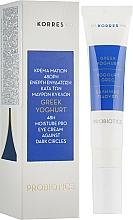 Parfums et Produits cosmétiques Crème aux protéines de yaourt grec pour contour des yeux - Korres Greek Yogurt Eye Cream