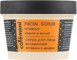Parfums et Produits cosmétiques Gommage aux vitamines pour visage - Cafe Mimi Facial Scrub Vitamins