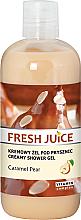 Parfums et Produits cosmétiques Gel douche crémeux Poire au caramel - Fresh Juice Caramel Pear Creamy Shower Gel