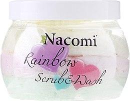 Parfums et Produits cosmétiques Mousse lavante peeling à l'arôme de pastèque - Nacomi Rainbow Scrub & Wash