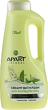 Parfums et Produits cosmétiques Bain moussant crémeux à l'arôme de thé vert et muguet - Apart Natural Body Care Bath Foam