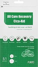 Parfums et Produits cosmétiques Patchs anti-imperfections pour visage - Purito All Care Recovery Cica-Aid