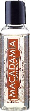 Huile à l'huile de macadamia pour cheveux - Kativa Macadamia Hydrating Oil — Photo N2