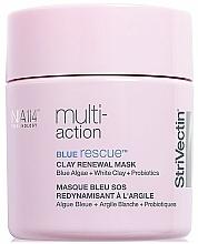 Parfums et Produits cosmétiques Masque à l'argile blanche et extrait d'algues bleues pour visage - StriVectin Multi-Action Blue Rescue Clay Renewal Mask