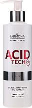 Parfums et Produits cosmétiques Tonique visage exfoliant - Farmona Professional Acid Tech Exfoliating Face Toner