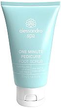 Parfums et Produits cosmétiques Gommage au sel de mer et beurre de karité pour pieds - Alessandro International Spa One Minute Pedicure Foot Scrub