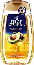 Parfums et Produits cosmétiques Huile de douche, Avocat et Papaye - Felce Azzurra Shower Oil