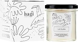 Parfums et Produits cosmétiques Bougie parfumée à la cire de soja Plage - Hagi Soy Candle La Playa