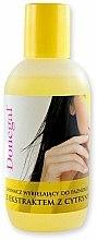 Parfums et Produits cosmétiques Dissolvant pour vernis à ongles à l'extrait de citron - Donegal Nail Polish Remover