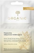 Parfums et Produits cosmétiques Masque au cacao et framboise pour visage - Organic Lab Nourishing and Relaxing Face Mask