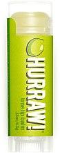 Parfums et Produits cosmétiques Baume à lèvres à l'huile de lime - Hurraw! Lime Lip Balm